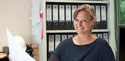 Anna Kristina Gades, Bauleiterin bei der Köster GmbH