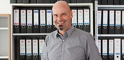 Jens P. Vonberg, Vertriebsingenieur bei