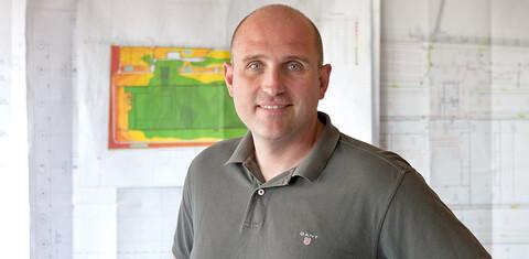 Christian Wendt, Projektleiter bei der Köster GmbH