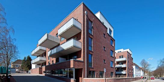 Wohnanlage Gazertstraße, Hamburg: Schlüsselfertiger Neubau mit 29 Wohnungen