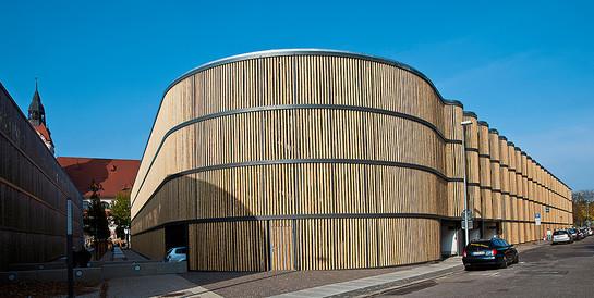 Besucherparkhaus Zoo Leipzig: Schlüsselfertiger Neubau des Besucherparkhaus mit 795 Pkw-Stellplätzen.