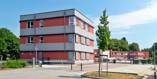 Integrative Ganztagsschule Paradies, Jena: Schlüsselfertiger Neubau einer Ganztagsschule für 360 Schüler/innen.