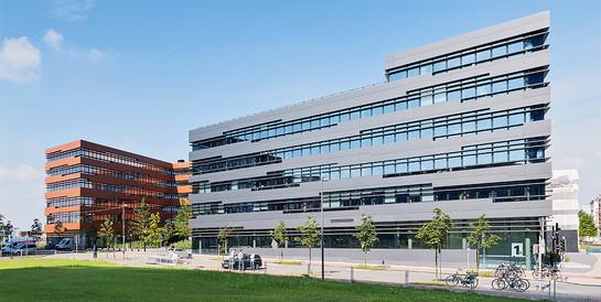 Bürogebäude Luv und Lee, Bremen: Schlüsselfertiger Neubau mit Parkhaus